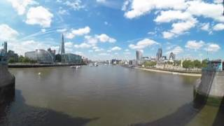 VR video shot from Tower Bridge