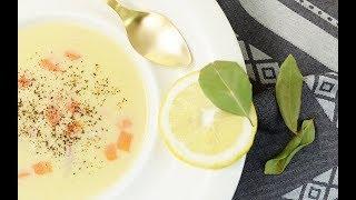 Terbiyeli Tavuk Suyu Çorba Tarifi  - Terbiye Nasıl Yapılır - Semen Öner - Yemek Tarifleri