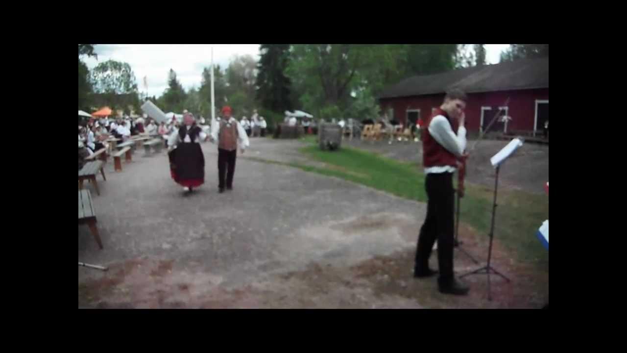 Folk dance - Hambo på Logen i Kycklings, Lappträsk ...