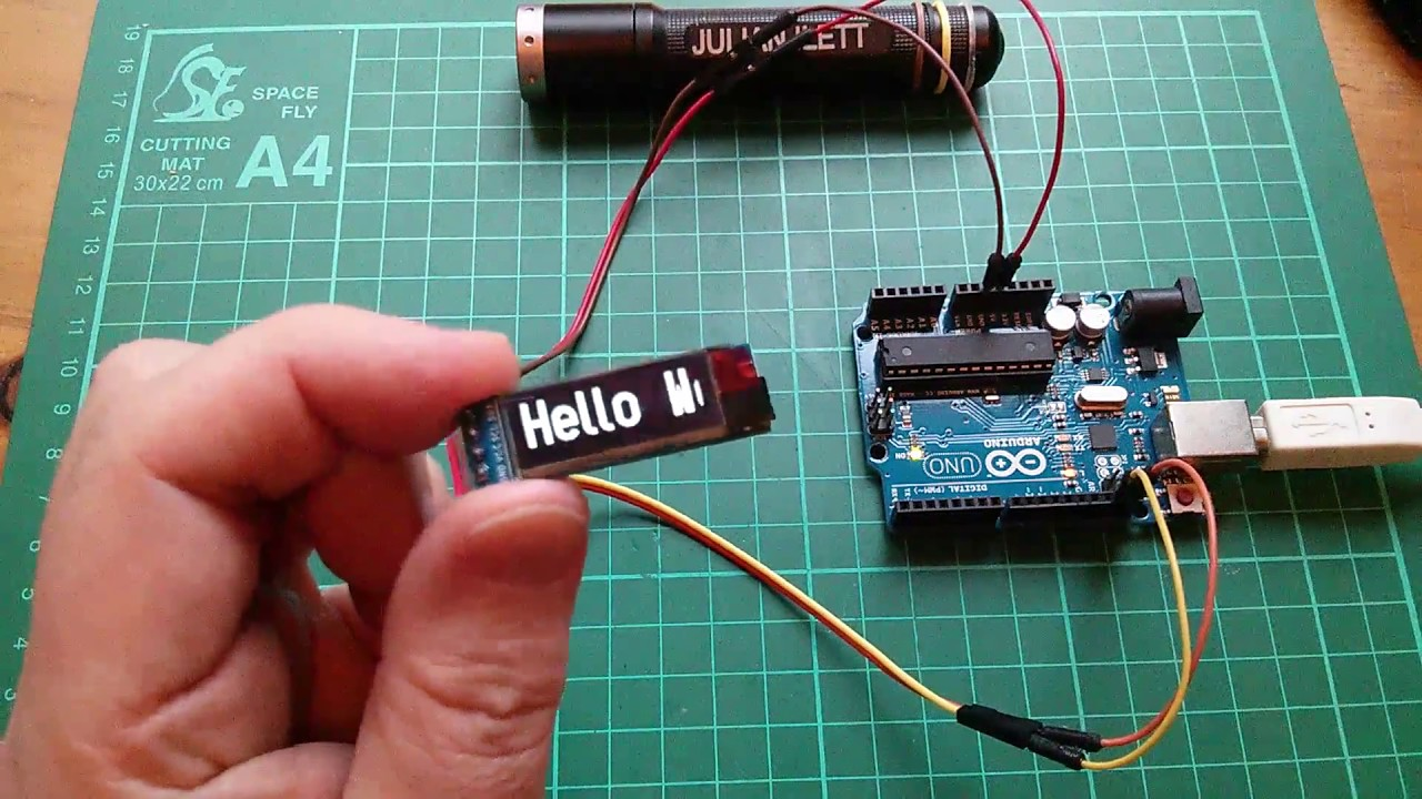Arduino anxiety uno oled and u g lib youtube