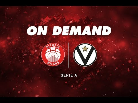EA7 Olimpia Milano - Virtus Bologna On Demand