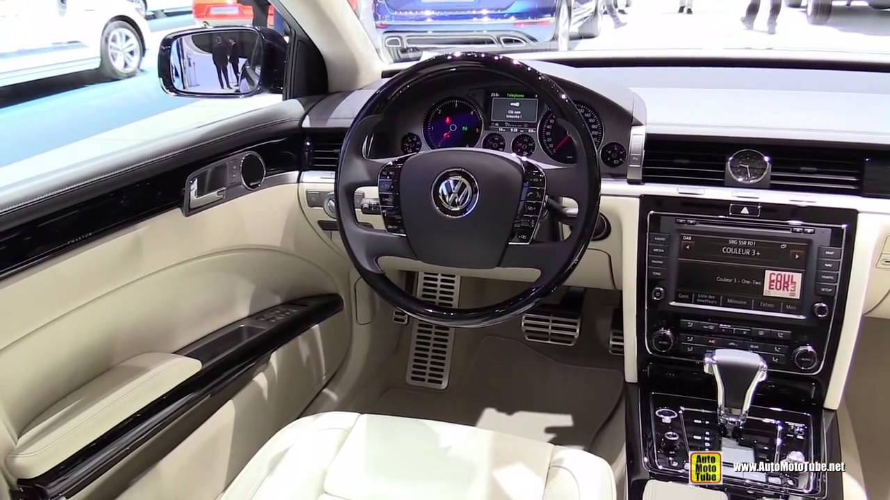 2015 Volkswagen Phaeton Exclusive Tdi V6 Exterior And
