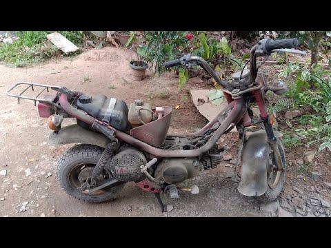 Yamaha Chappy Full Restoration   80cc Chappy Bike Full Restoration