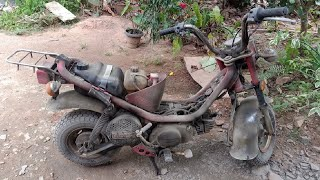 Yamaha Chappy Full Restoration | 80cc Chappy bike full Resto...