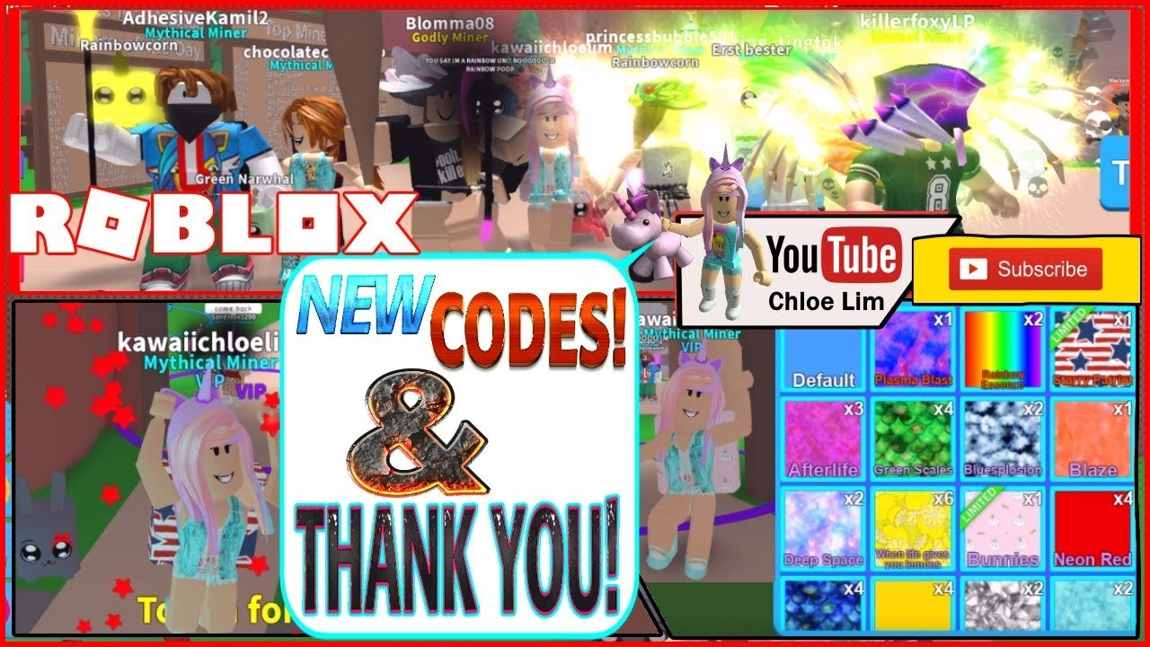Roblox Gameplay Mining Simulator Mythicals New Codes And