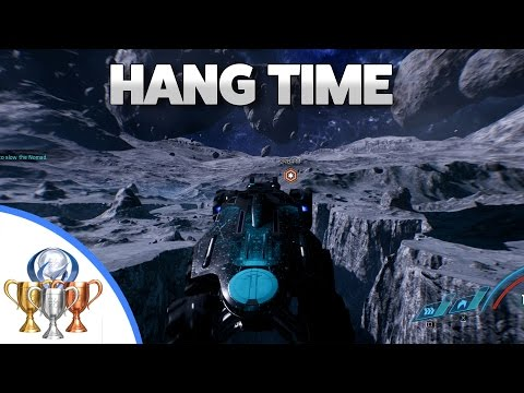 Mass Effect Andromeda Hang Time Trophy and Achievement (Keeping Nomad Airborne for 35 Seconds)