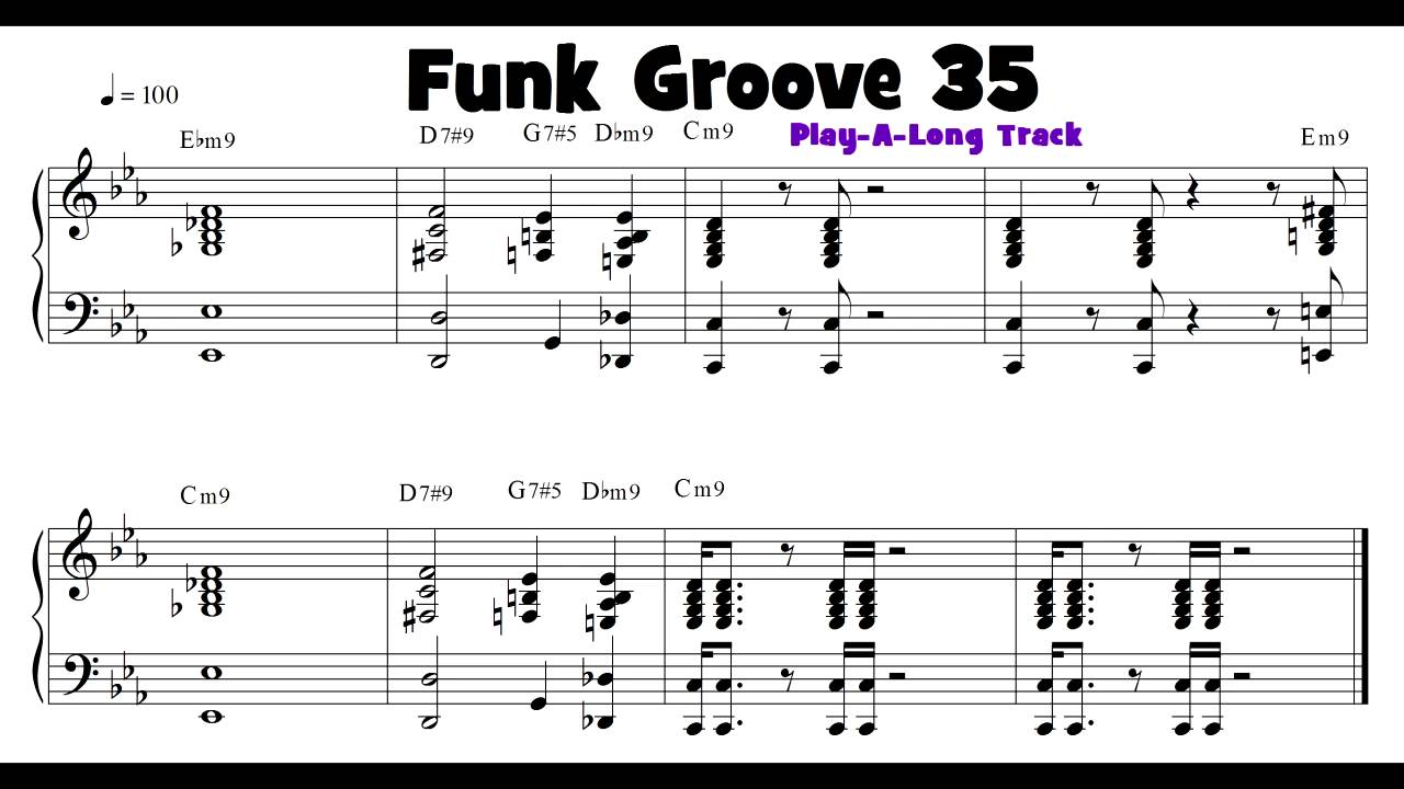 Groove 35 funk soul and rb keyboard groove of the day with play groove 35 funk soul and rb keyboard groove of the day with play a long track hexwebz Image collections