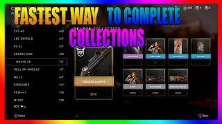WW2 - Fastest Way To Complete The Collections To Get Epic Variants!!!