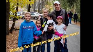 Journey to Faith - our special needs adoption story (Music: Oceans {where feet may fail} Hillsong)