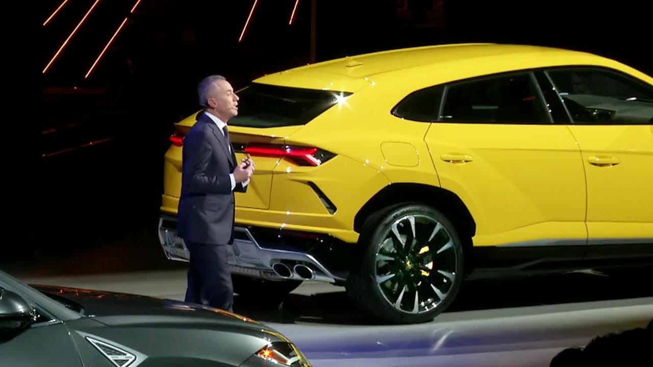 2018 Lamborghini Urus World Premiere Youtube