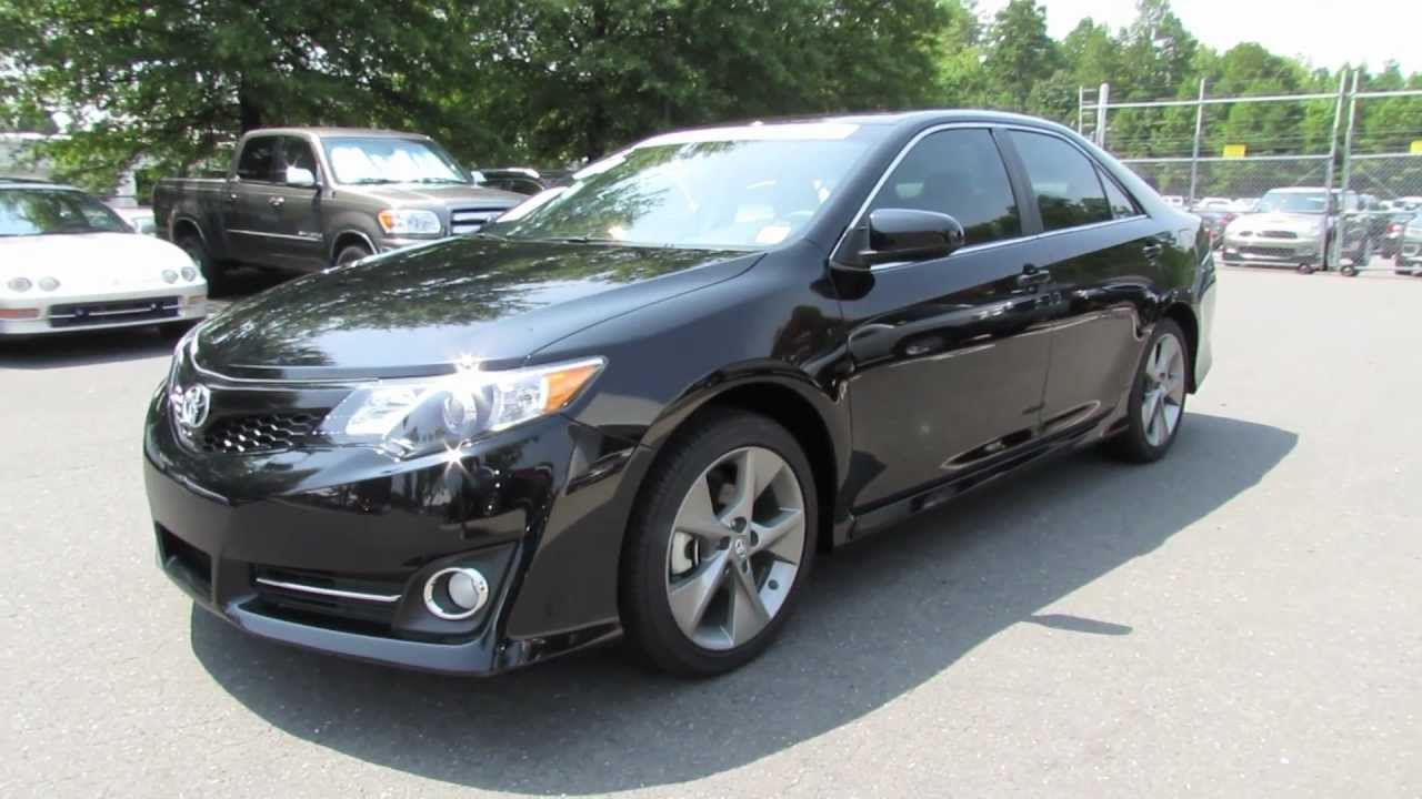 2012 toyota camry se v6 start up exhaust and in depth review youtube