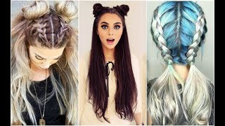 PEINADOS TUMBLR Fáciles y Rápidos | TUMBLR Hairstyles