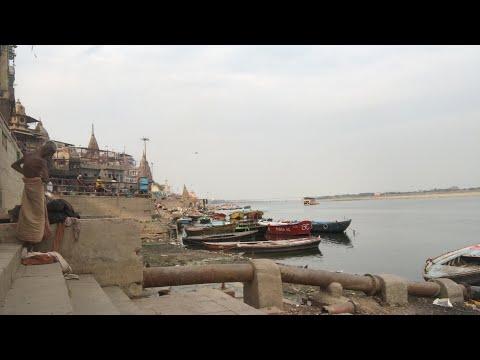 ガンジス川を生配信で拝める有難いライブ #インド旅