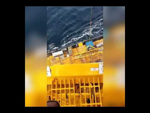 Offshore stairway repair part 2
