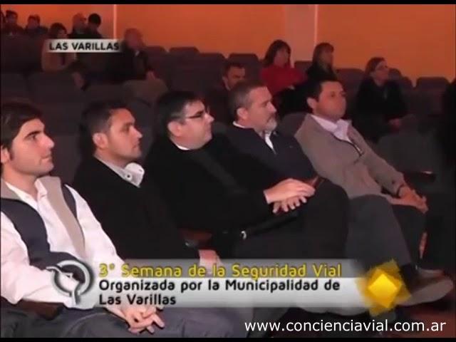 2014 - 3era Semana de la Seguridad Vial (Las Varillas, Córdoba) - Charla de Axel Dell' Olio