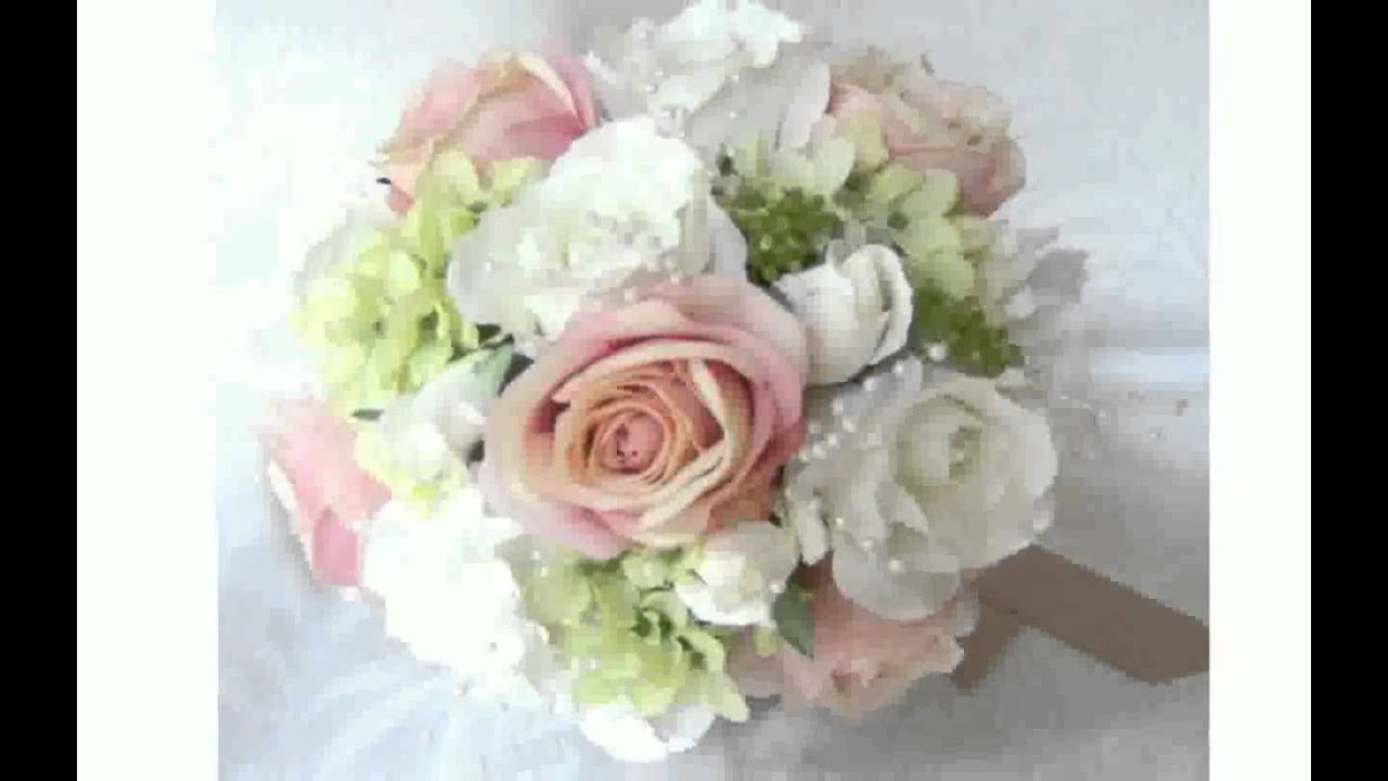 Silk Flower Bouquets - YouTube