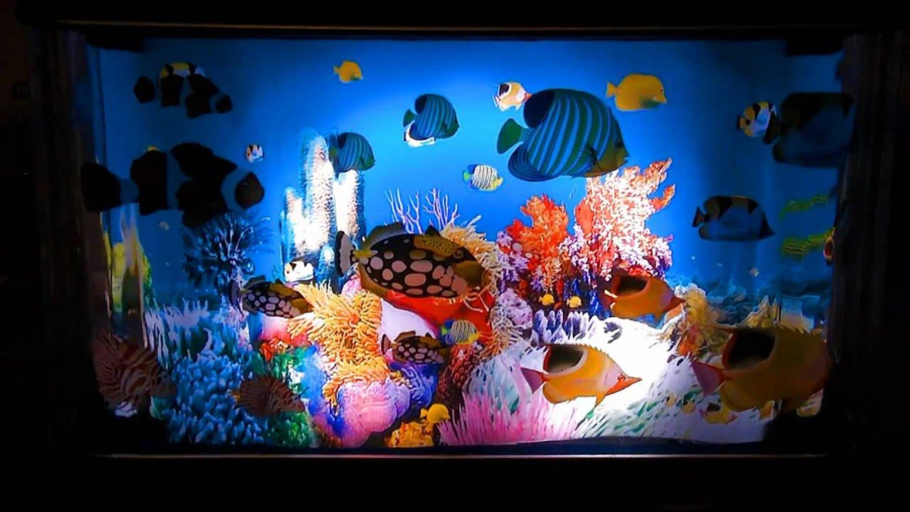 Living Aquarium lamp - YouTube