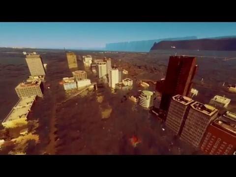 Mega Tsunami 2018 - Cities Skylines