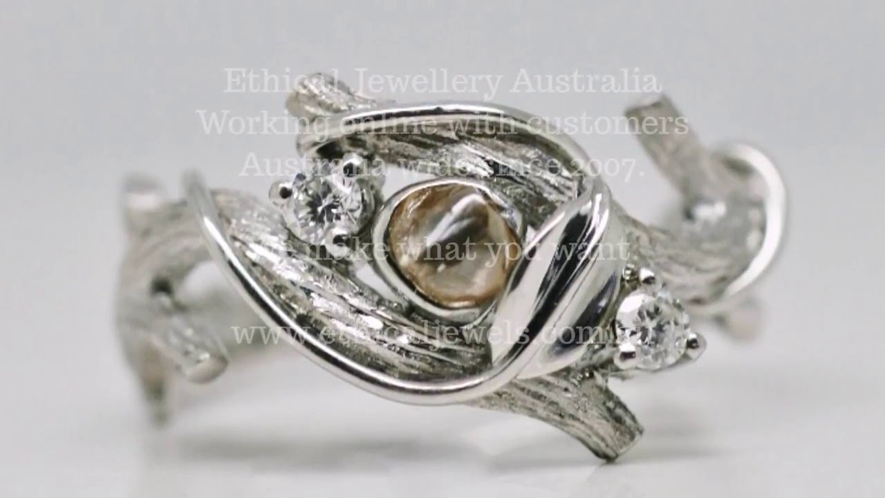 ethical jewellery australia handmade engagement and wedding rings - Handmade Wedding Rings