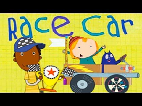 Peg Cat Race Car Games