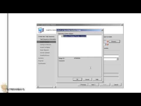 "SCCM 2007! - OSD Configuration ""Create Task Sequence for OS Deployment"" Part 4"