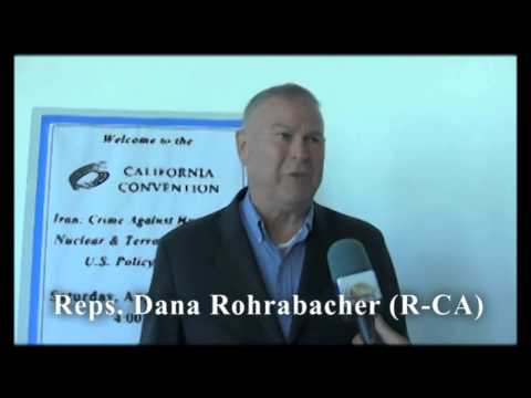 Reps. Dana Rohrabacher (R-CA) discussed Iranian regime's new president, Hassan Rouhani.