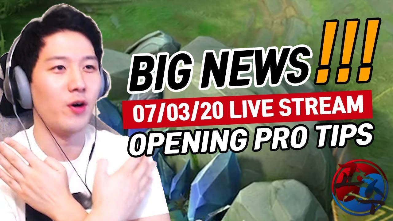 Be a pro player!! Tips and highlight 07/03/20 Live stream | Mobile Legends