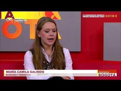 María Camila Galindo - Embajadora digital Teletón - Despierta Bogotá