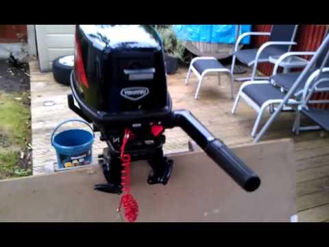 2006 Tohatsu 5hp 2 Stroke Outboard Engine Youtube