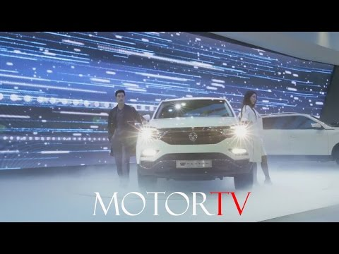 SUV: ALL NEW 2017 SSANGYONG G4 REXTON REVEAL l SEOUL MOTOR SHOW l CLIP