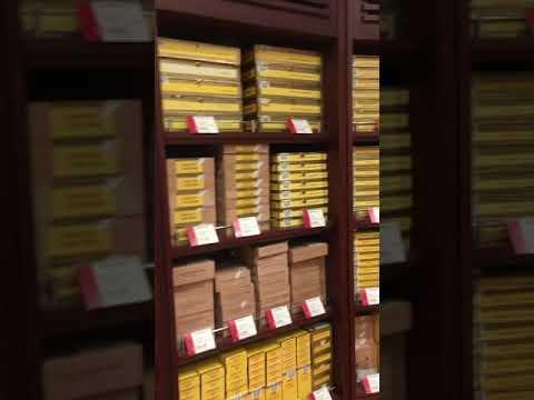 Dubai Airport Cuban Cigars