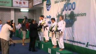 Repeat youtube video Ceremonija dodele medalja u kategoriji -63kg, Biskupović Dragana bronzana medalja