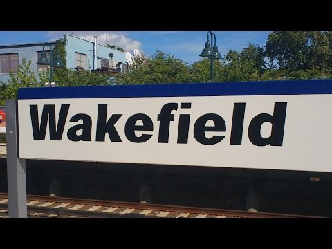 Metro North Harlem / New Haven Line Railfanning at Wakefield Part 1