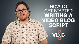 How to get started writing a video blog script | Video Blog How To | Vlog Pod Sunshine Coast
