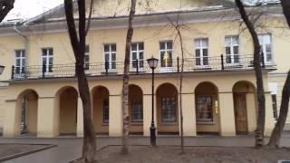 видео «Урок в музее» в «Доме Гоголя»