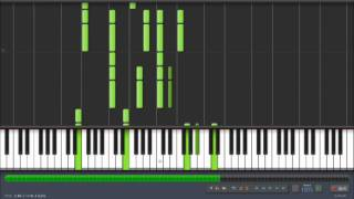 Synthesia - Green Day - Restless Heart Syndrome Piano Tutorial + Sheet Music