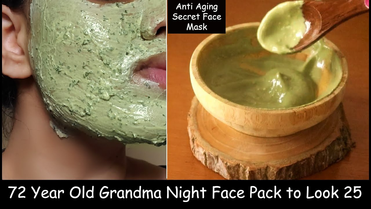 Apply Night Face Pack & Change Skin Complexion Overnight - Skin Whitening Yogurt Moong dal Face Pack