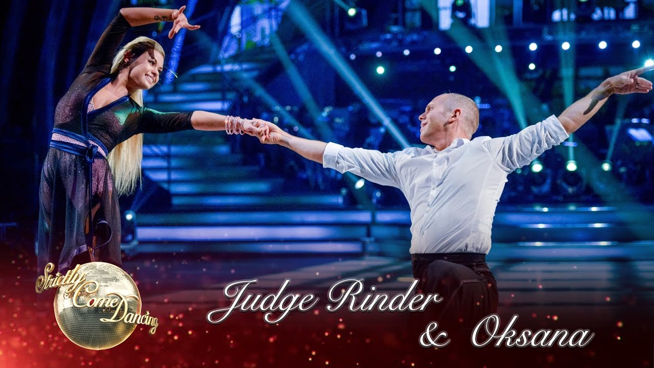 Judge Rinder Oksana Platero Rumba To Lean On Me By Bill Withers