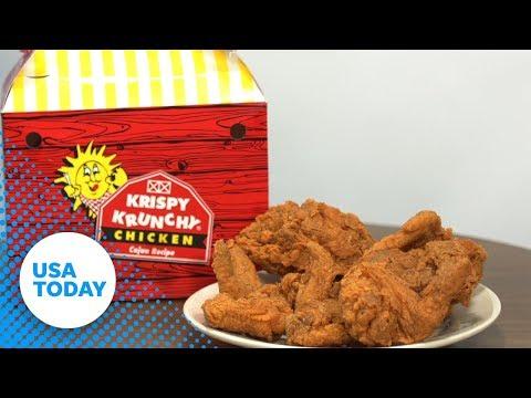 Krispy Krunchy Chicken is not that crunchy