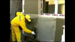 Полимин-Утепление фасада- Пенопластом. Видео Урок - Сделай Сам.