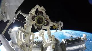 Amazing GoPro Footage of Astronaut Spacewalk | Time-lapse Video