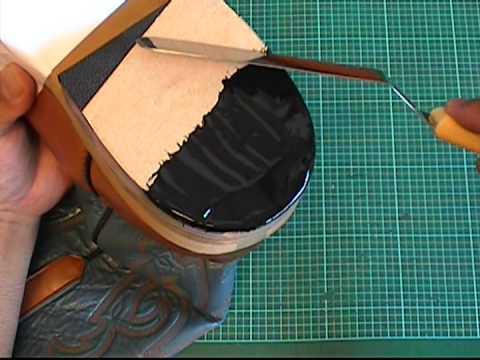 【靴のかかと修理】を自分でやる方法③<最後に『7個のテクニック』を>総まとめ動画 【055】