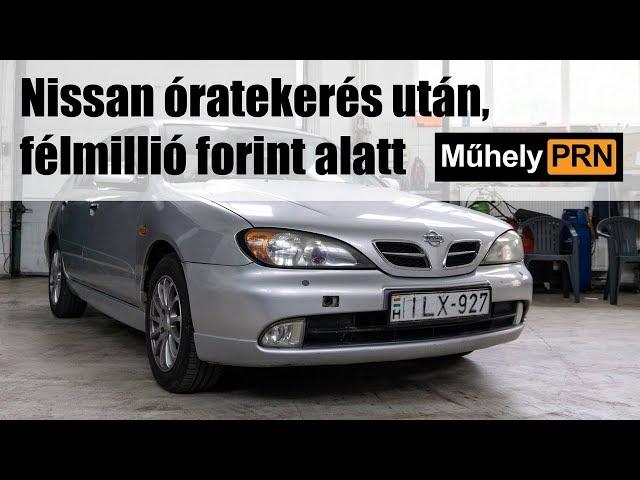 Totalcar MűhelyPRN 14.: Nissan óratekerés után, félmillió forint alatt