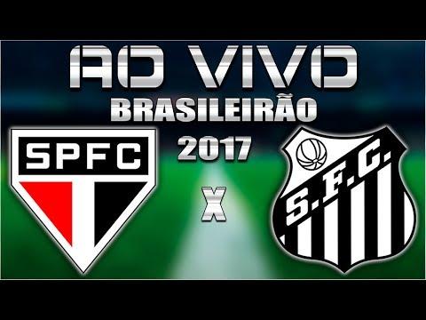 SÃO PAULO X SANTOS - AO VIVO COM PARCIAIS DO CARTOLA FC! [NARRAÇÃO COMPLETA]