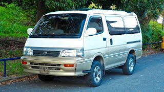 1993 Toyota Hiace Turbo Diesel 4x4 (USA Import) Japan Auction Purchase Review