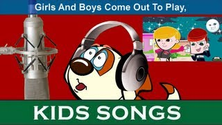 Happy Buddy Sings Girls & Boys Come Out To Play | Nursery Rhymes | Lyrics By SmileKidsTV
