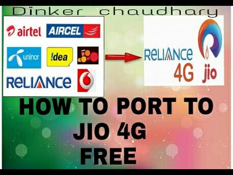How to port to jio 4g from idea airtel vodafone