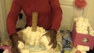 DIY: Diaper Cake Tutorial