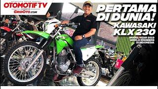 Benar-benar Baru! Kawasaki Klx 230 2019 | First Impression | Gridoto