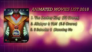 List of All Animated Movies released in 2018 | Animation Cinema | Lollywood Films